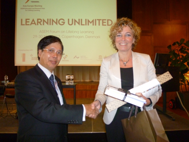 DED and the Danish Minister for Education